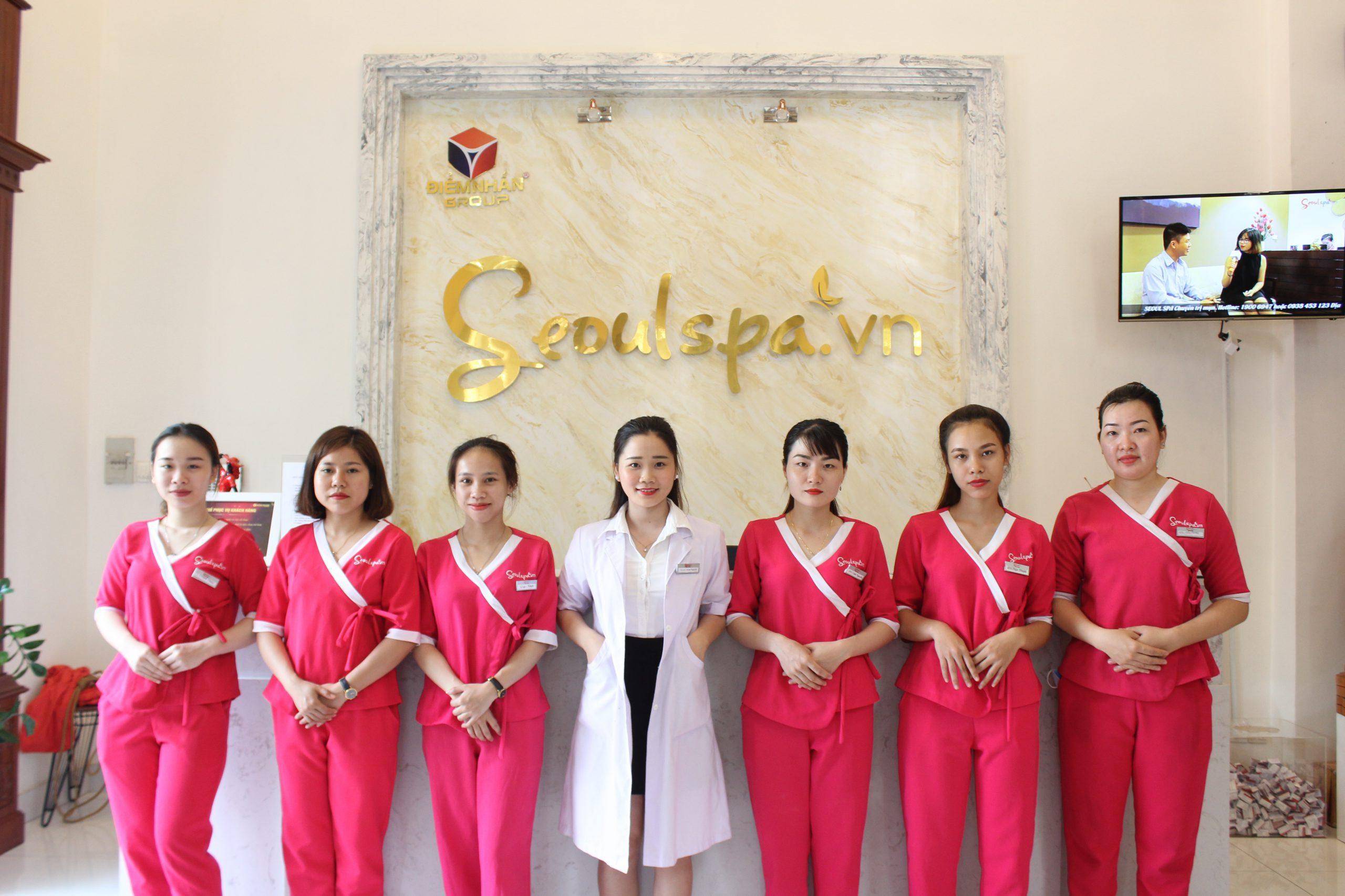 Học viên được hỗ trợ nhượng quyền Seoul Spa sau khi tốt nghiệp