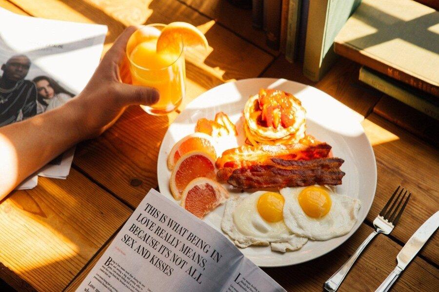 Bữa sáng cực kỳ quan trọng để cung cấp năng lượng cho hoạt động trong ngày