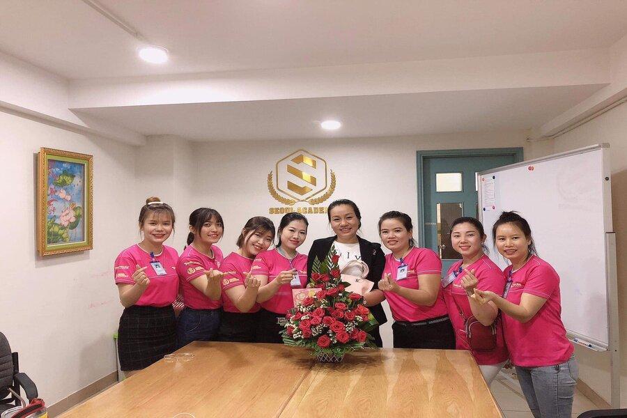 Học viên luôn tìm tới với Seoul Academy khi muốn học nghề làm đẹp