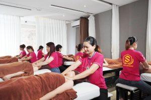 Massage giúp giảm áp lực công việc và cuộc sống