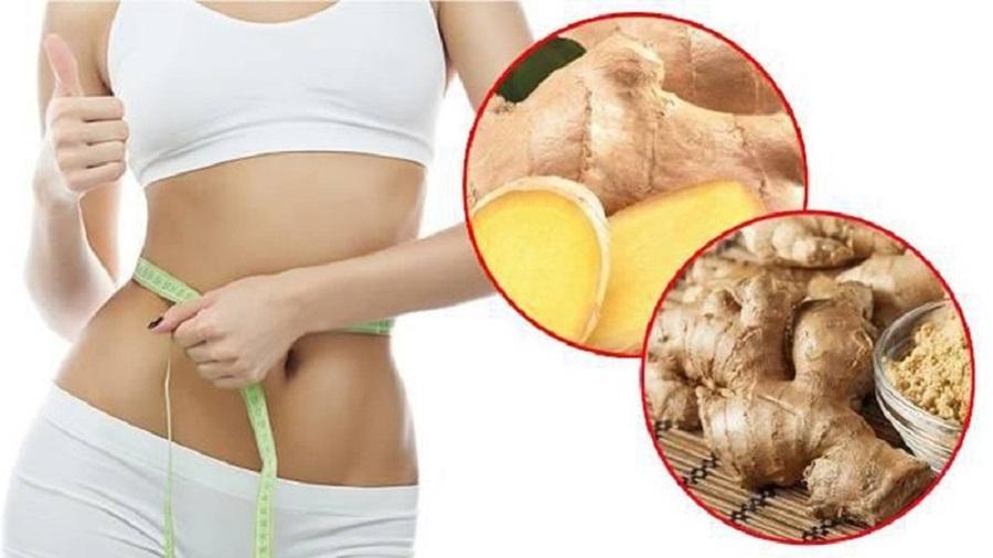 Gừng không những giúp giảm cân mà còn tốt cho tiêu hóa