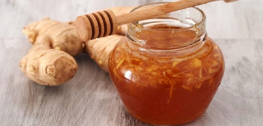 Mật ong và gừng hỗ trợ giảm cân và chữa các bệnh về đường tiêu hóa