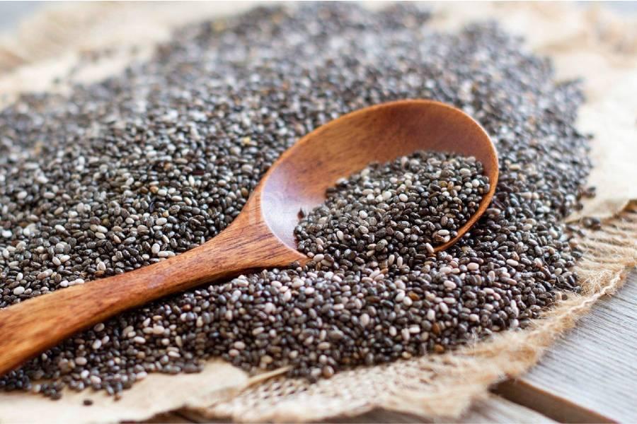 Trong hạt chia có chứa nhiều thành phần dinh dưỡng tốt cho cơ thể