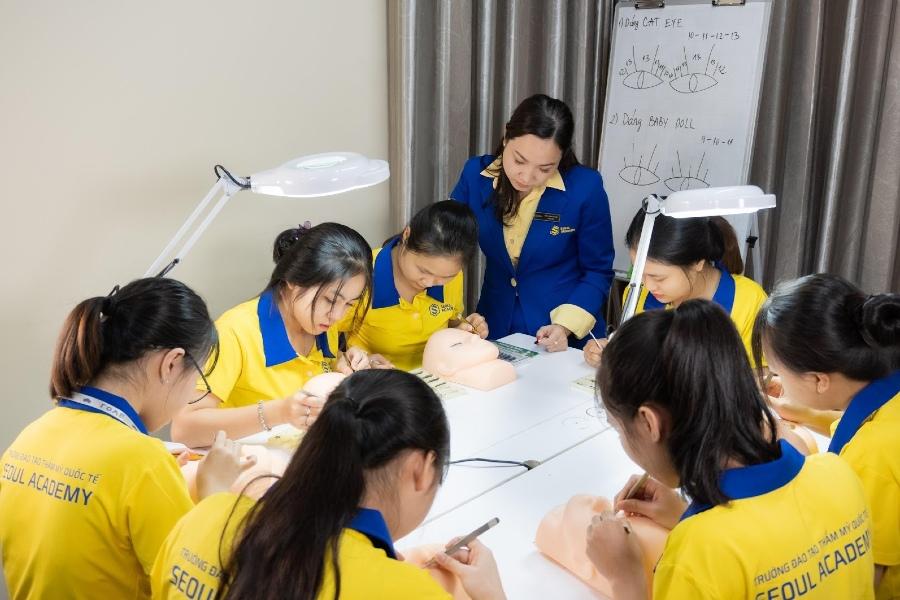 Seoul Academy học viện spa chuyên nghiệp ở tại Bình Dương